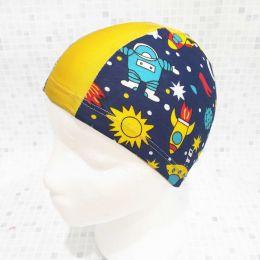 Космос Текстильная шапочка для плавания