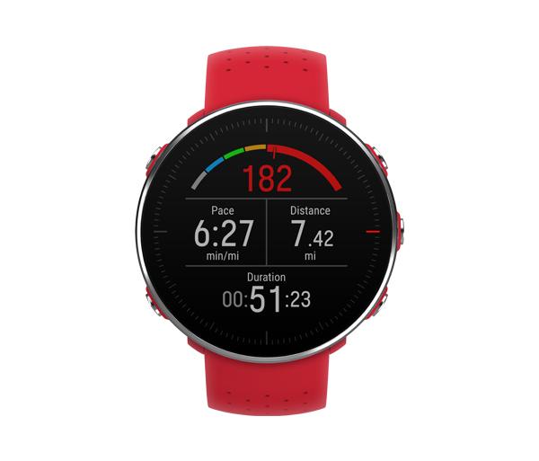 Polar Vantage M Red пульсометр для мультиспорта с GPS