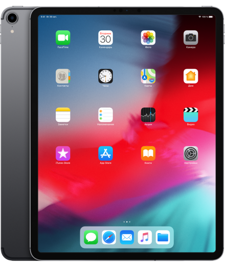 Apple iPad Pro 12.9 (2018) Space Gray 1Tb Wi-Fi Cellular