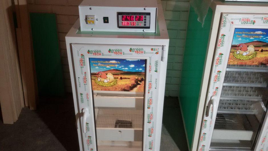 Инкубатор фермерский ТЖУ 300-1В (Вместимость 412 яйц)