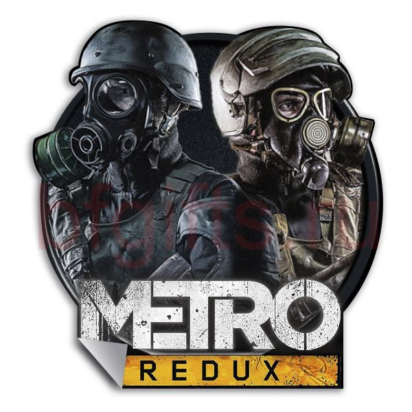 Наклейка Метро 2033