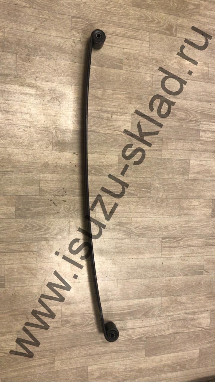 Лист рессорный коренной передний 70x13x1300 с сайлентблоками NQR 71 / NQR 75 / Богдан