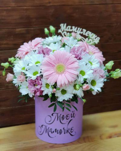 """Коробка цветов """"Рай цветов"""""""