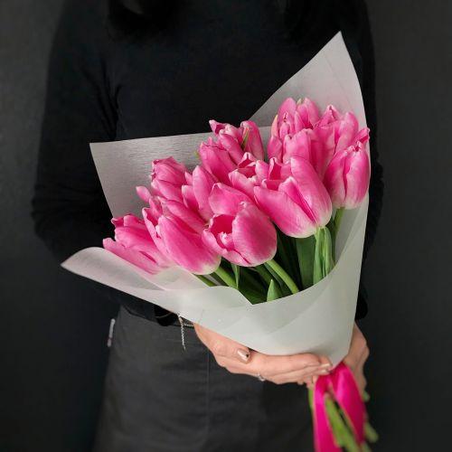 Букет цветов из 11 тюльпанов