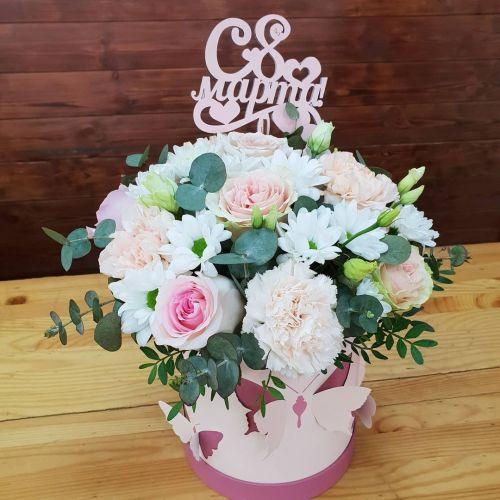 """Коробка цветов """"Шарм"""""""