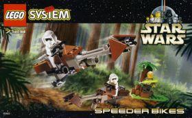 7128 Лего Спидеры клонов