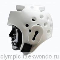 Шлем для тхэквондо FIRE ICE, белый