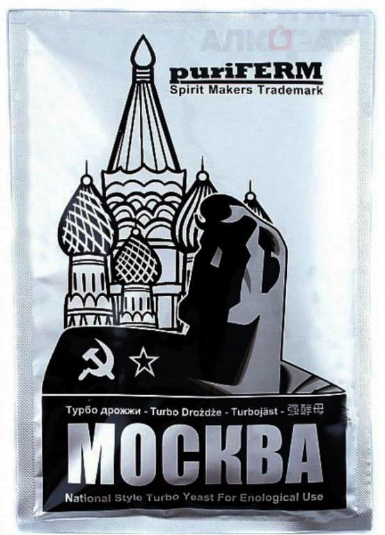 Дрожжи спиртовые PuriFerm Москва 140 г