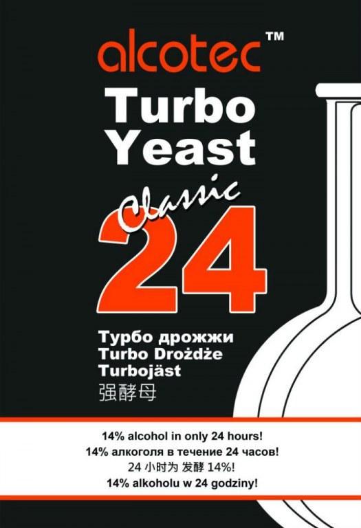 Дрожжи спиртовые Alcotec 24 Turbo