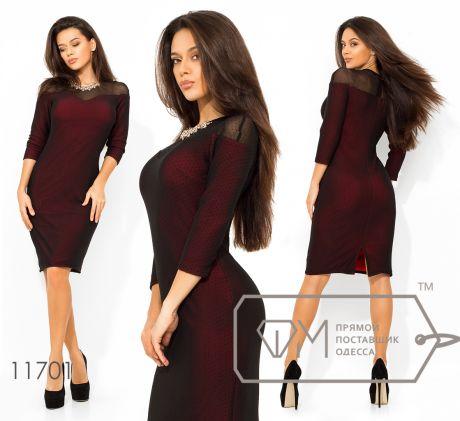 Платье приталенное 11701