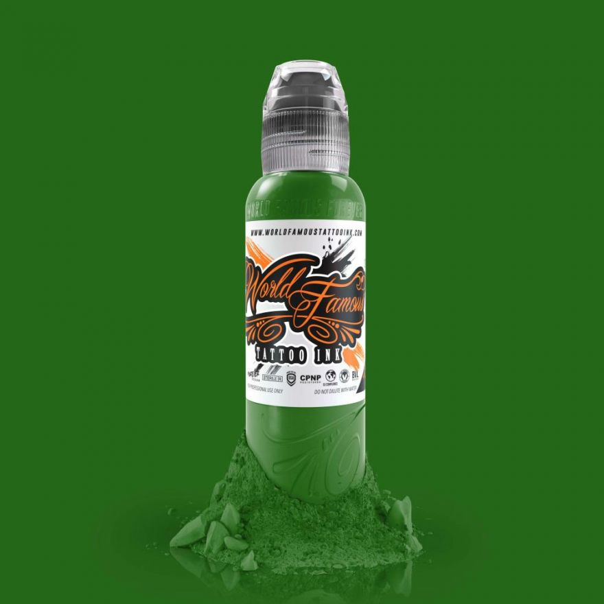 SALE World Famous Ink Everglades Green