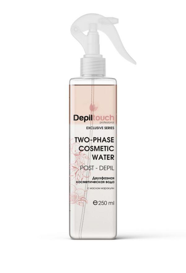 Вода косметическая двухфазная с маракуйей, 250 мл. Depiltouch