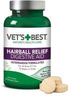 Vet's Best Hairball Relief Digestive Aid For Cats 60 жевательных таблеток