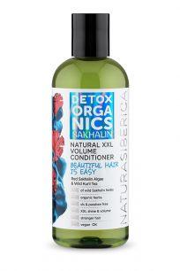"""""""NS"""" Detox organics Sakhalin Бальзам для всех типов волос """"Объем и уход"""", 270 мл"""