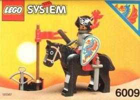 6009 Лего Черный рыцарь