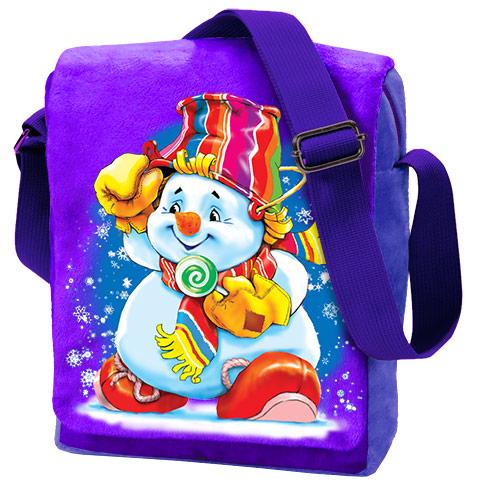 Сумка-планшет Снеговик 1200 грамм