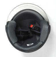 Шлем открытый Jiekai 202 black фото 5