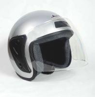 Шлем открытый Jiekai 202 silver фото 2