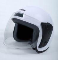 Шлем открытый Jiekai 202 white фото 3