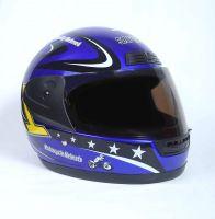 Шлем интеграл Safebet 109 Blue фото 2