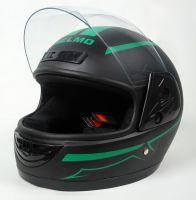 Шлем интеграл Helmo HZF03 BlackMat-Green фото 3