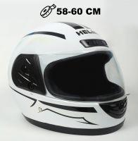Шлем интеграл Helmo HZF03 White-Black фото 1