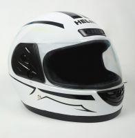 Шлем интеграл Helmo HZF03 White-Black фото 2