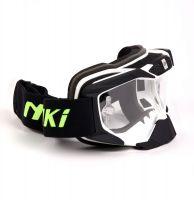 Очки для мотоциклистов NENKI черные фото 3