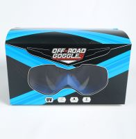 Мото очки М004 Blue фото 4