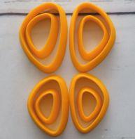 Каттеры для полимерной глины №6 ( зеркальные )