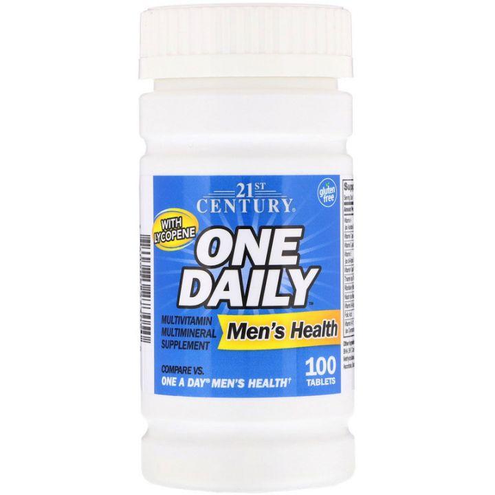 One Daily Men's Health 100 табл (21st Century)