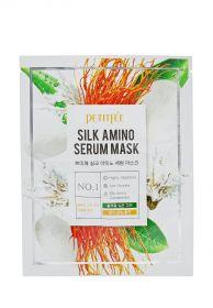 Petitfee Silk Amino Serum Mask 25g - Тканевая маска
