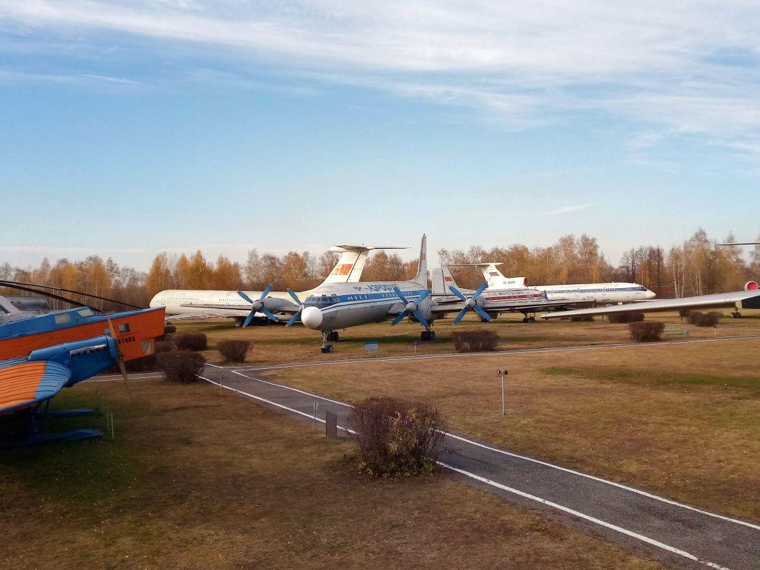 Фотосессия в авиамузее