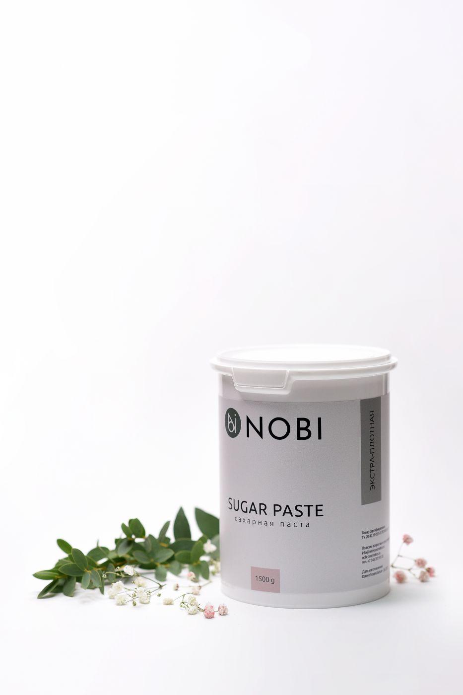 Паста для шугаринга NOBI Экстра - плотная 1500 гр