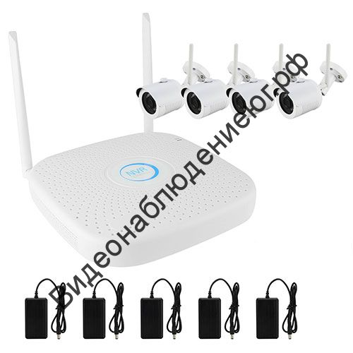 Комплект IP Wi-Fi видеонаблюдения PX-KIT-PG420-20W