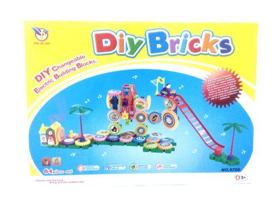 Конструктор DIY BRICKS 64 детали