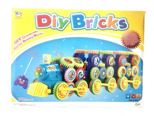 Конструктор DIY BRICKS 164 детали
