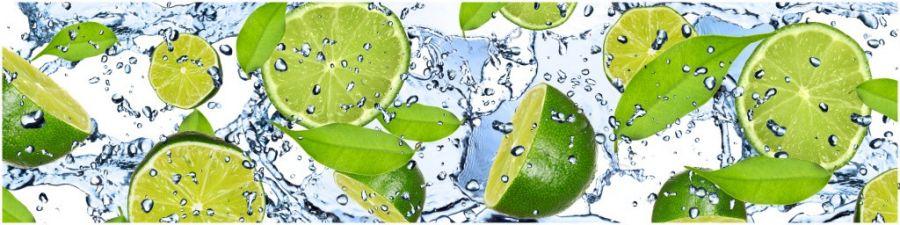 Кухонный фартук AG 12 - Лайм вода еда