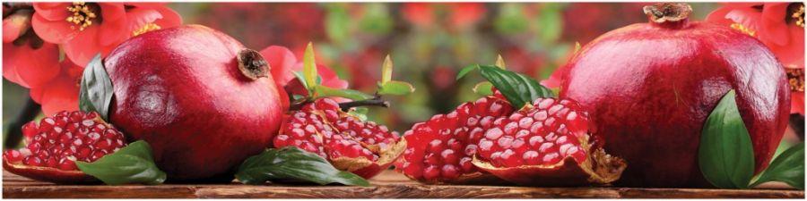 Кухонный фартук AG 14 - Гранат фрукты еда