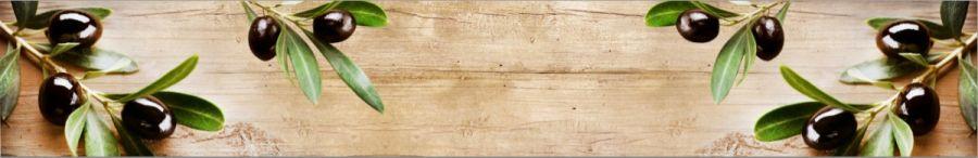 Кухонный фартук BS 56 - Веточка оливы