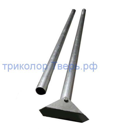 Мачта МТ 3 м, алюминий, 2 секции, 50 мм
