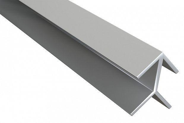 Планка для мебельных щитов угловая 4мм 1070