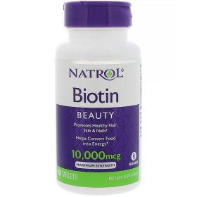 Natrol Биотин 10,000 мкг 100 таблеток