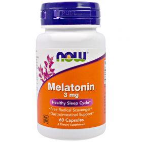 Now Мелатонин 3 мг 60 капсул