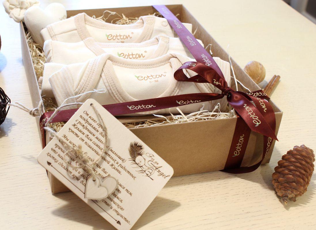Подарочный комплект для новорожденных из 4-х предметов E16ESG2BE003
