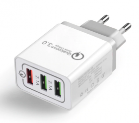 Зарядное устройство (3USB) Quick Charge 3.0