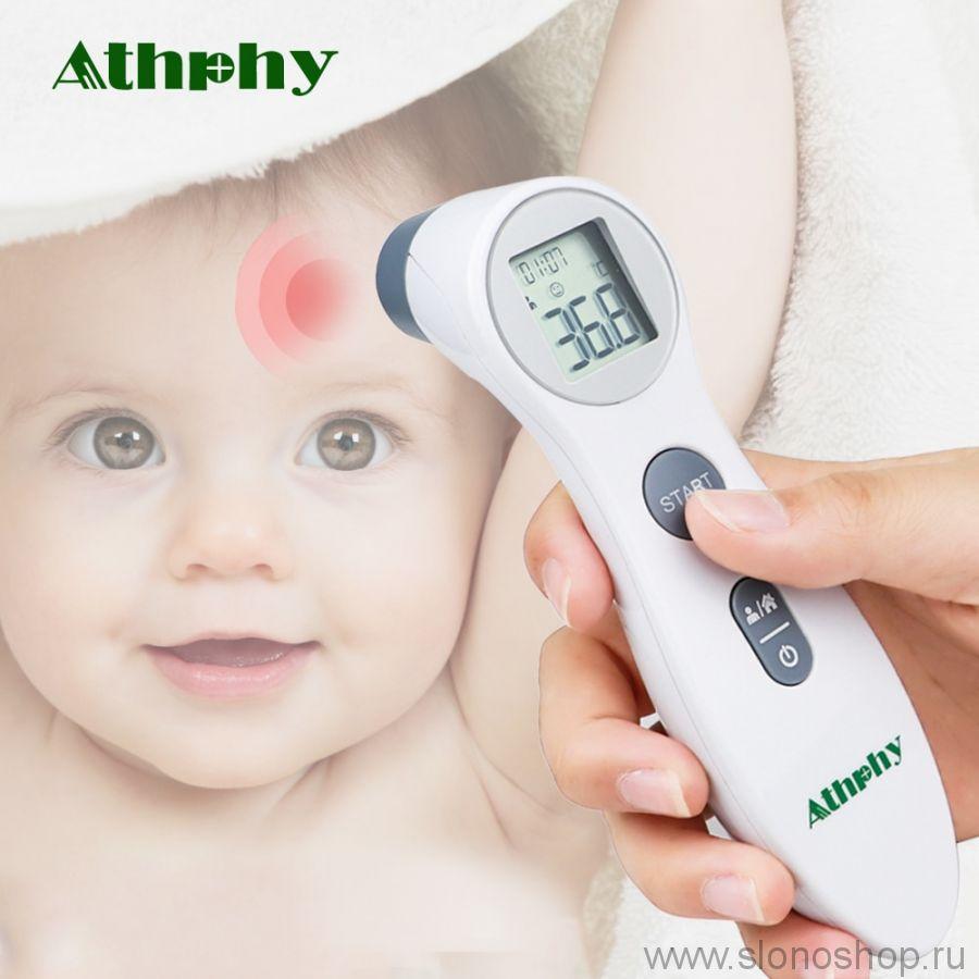 Инфракрасный термометр для тела и поверхностей Athphy
