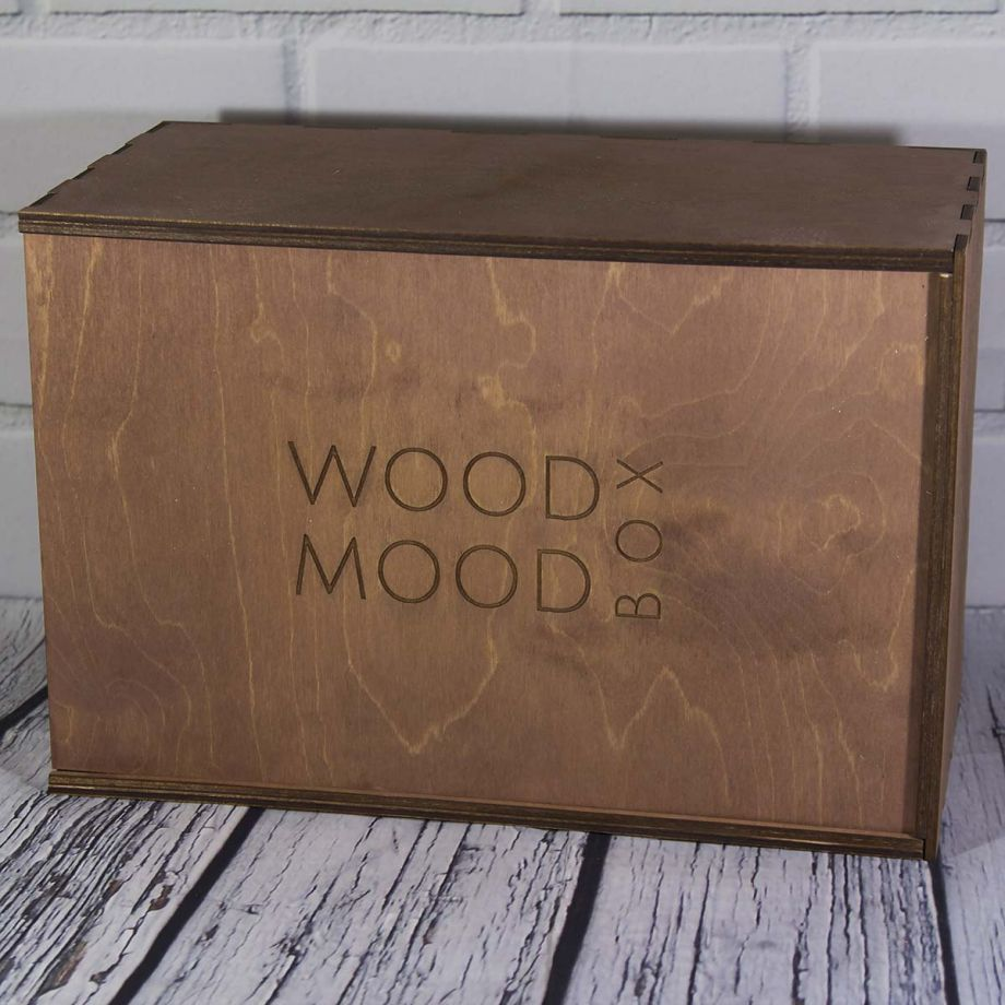 Коробка пенал из дерева на заказ