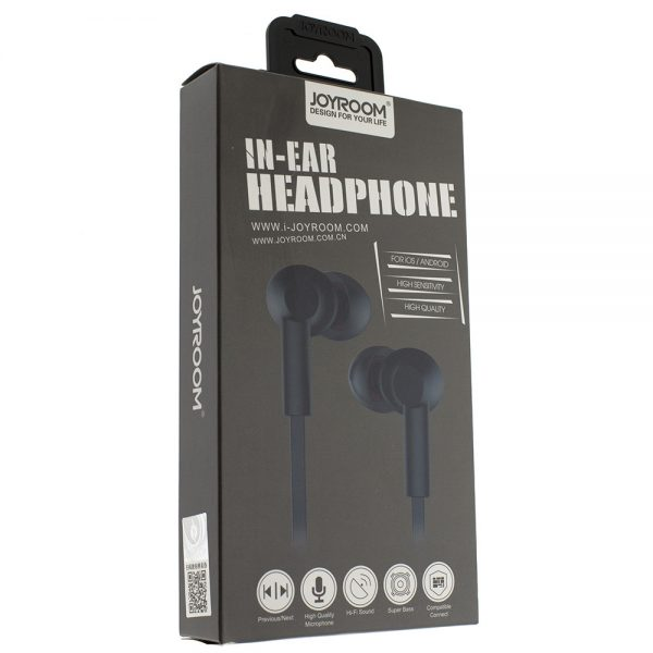 Наушники JOYROOM stereo in-ear headphones