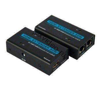 Комплект передачи HDMI сигнала по витой паре на 30 метров